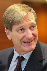 © Licensed to London News Pictures. 30/10/2019. London, UK. DOMINIC GRIEVE MP at the Best for Britain press conference in Westminster where a study of how the UK will vote on 12 December 2019 UK general election, showing how many seats each party are projected to win will be highlighted. Photo credit: Dinendra Haria/LNP