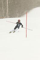 Gilford High School alpine ski race at Gunstock January 8, 2010.
