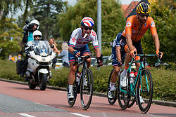 LEEZER Thomas from NETHERLANDS during Men Elite Road Race 2019 UEC European Road Championships, Alkmaar, The Netherlands, 11 August 2019. <br /> <br /> Photo by Pim Nijland / PelotonPhotos.com <br /> <br /> All photos usage must carry mandatory copyright credit (Peloton Photos | Pim Nijland)