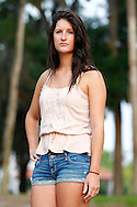 Senior photos of Audrey Abell, River Ridge Class of 2011, by Mike Carlson Photography