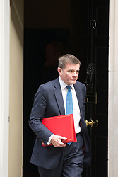 © Licensed to London News Pictures. 08/04/2014. London, UK David Jones, Secretary of State for Wales,  leaves the Cabinet Meeting 8th April 2014. Photo credit : Stephen Simpson/LNP