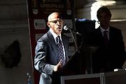 marco aloi<br /> presentazioe supercoppa 2018<br /> Legabasket Serie A 2018/19<br /> Brescia, 24/09/2018<br /> Ciamillo-Castoria