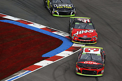September 30, 2018 - Concord, North Carolina, United States of America - Austin Dillon (3) races during the Bank of America ROVAL 400 at Charlotte Motor Speedway in Concord, North Carolina. (Credit Image: © Chris Owens Asp Inc/ASP via ZUMA Wire)