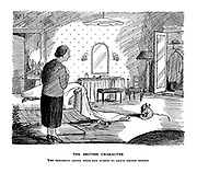 The British Character. The tendency among week-end guests to leave things behind