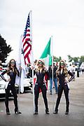 June 27-29, 2019: Lamborghini Super Trofeo: Watkins Glen International. Lamborghini grid girls