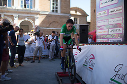Annemiek van Vleuten (NED) of Orica Scott Cycling Team cools down after Stage 5 of the Giro Rosa - a 12.7 km individual time trial, starting and finishing in Sant'Elpido A Mare on July 4, 2017, in Fermo, Italy. (Photo by Balint Hamvas/Velofocus.com)
