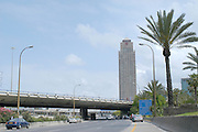 Sheraton City Hotel, and Ayalon Highway, Ramat Gan, Israel bordering with Tel Aviv and near the diamond exchange