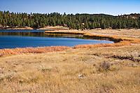 Echo Canyon Reservoir, south of Pagosa Springs, Colorado.