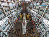 Urban Explorer Finds The Sad Remains Of The Soviet Space Shuttle Program