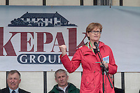 Mairead McGuinness MEP attending 'SHEEP2015', the major National Sheep Open Day hosted by Teagasc at Athenry on Saturday. Photo:- Andrew Downes / xposure.ie  No Fee. Issued on behalf of Teagas