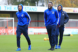 Bristol Rovers players arrive at Checkatrade.com - Mandatory by-line: Jason Brown/JMP - 05/11/2016 - FOOTBALL - Checkatrade.com Stadium - Crawley, England - Crawley Town v Bristol Rovers - Emirates FA Cup first round