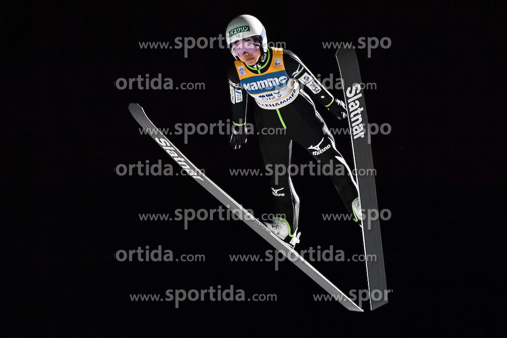 02.12.2016, Lillehammer, NOR, FIS Weltcup Ski Sprung, Lillehammer, Damen, im Bild Sara Takanashi (JPN) // Sara Takanashi of Japan during Womens Skijumping Competition of FIS Skijumping World Cup. Lillehammer, Norway on 2016/12/02. EXPA Pictures &copy; 2016, PhotoCredit: EXPA/ Nisse<br /> <br /> *****ATTENTION - OUT of SWE*****