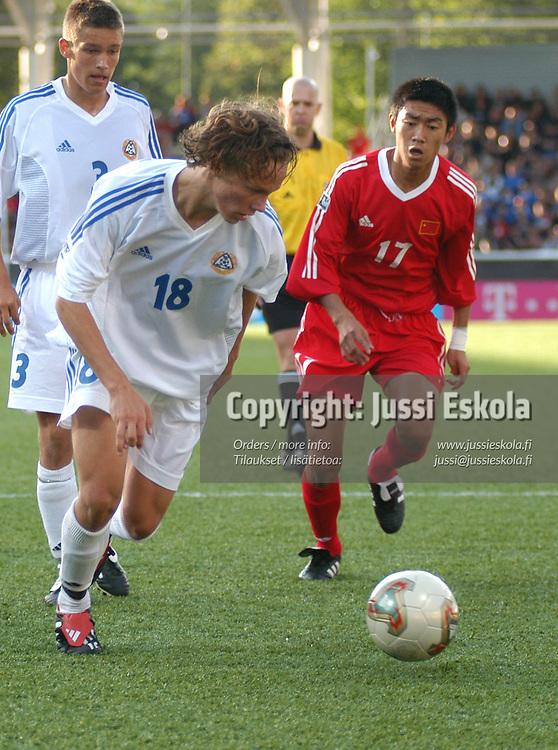 Jarkko Hurme<br /> Alle 17-vuotiaiden MM-kisat 2003.&amp;#xA;Photo: Jussi Eskola