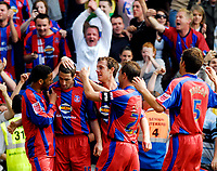 Photo: Alan Crowhurst.<br />Crystal Palace v Derby County. Coca Cola Championship. 29/04/2007. Mark Kennedy of Palace (2nd L) scores the second 2-0.