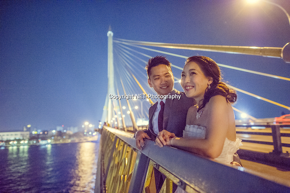 Bangkok  Thailand - Edith and Joe's prewedding (prenuptial, engagement session) at Rama VIII Bridge in Bangkok , Thailand.<br /> <br /> Photo by NET-Photography<br /> Bangkok  Thailand Wedding Photographer<br /> info@net-photography.com<br /> <br /> View this album on our website at http://thailand-wedding-photographer.com/bangkok-pre-wedding-session-couple-macau/?utm_source=photoshelter&amp;utm_medium=link&amp;utm_campaign=photoshelter_photo