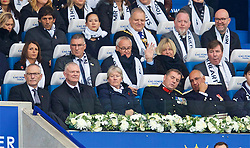 LEICESTER, ENGLAND - Saturday, November 10, 2018: Former Leicester City managers Nigel Pearson and Claudio Ranieri during the FA Premier League match between Leicester City FC and Burnley FC at the King Power Stadium. (Pic by David Rawcliffe/Propaganda)