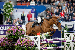 Beerbaum Ludger, GER, Cool Feeling<br /> LONGINES FEI World Cup™ Finals Gothenburg 2019<br /> © Hippo Foto - Stefan Lafrentz<br /> 04/04/2019