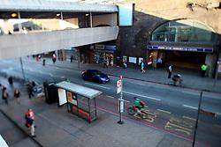 UK ENGLAND LONDON 21JUL15 - Commuters arrive in London Bridge at the start of a working day in London.<br /> <br /> <br /> <br /> jre/Photo by Jiri Rezac / Greenpeace<br /> <br /> <br /> <br /> &copy; Jiri Rezac 2015