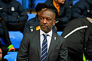 Southend United manager Chris Powell before the EFL Sky Bet League 1 match between Peterborough United and Southend United at London Road, Peterborough, England on 3 February 2018. Picture by Nigel Cole.