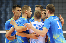 Slovenian Team during the European Championship game Spain - Slovenia on August 24, 2017 in Krakow, Poland. (Photo by Krzysztof Porebski / Press Focus)