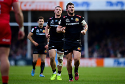 Alec Hepburn of Exeter Chiefs - Mandatory by-line: Ryan Hiscott/JMP - 29/12/2019 - RUGBY - Sandy Park - Exeter, England - Exeter Chiefs v Saracens - Gallagher Premiership Rugby
