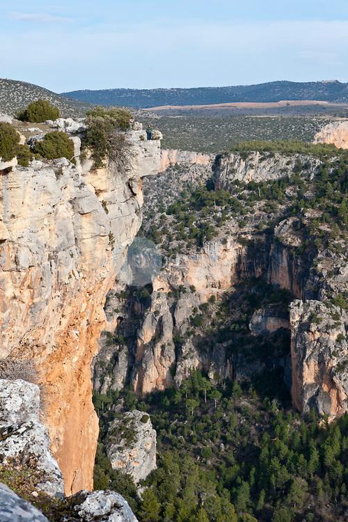 Cañón del río Zumeta. Parque Natural de Cazorla, Segura y las Villas. Jaén ©ANTONIO REAL HURTADO / PILAR REVILLA