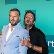 NLD/Halfweg20190829 - Seizoenspresentatie RTL 2019 / 2020, Tijl Bekhand en Ruben Nicolai