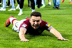 John McGinn of Aston Villa celebrates after his side win on penalties against West Bromwich Albion to book their place in the Sky Bet Championship Playoff Final - Mandatory by-line: Robbie Stephenson/JMP - 14/05/2019 - FOOTBALL - The Hawthorns - West Bromwich, England - West Bromwich Albion v Aston Villa - Sky Bet Championship Play-off Semi-Final 2nd Leg