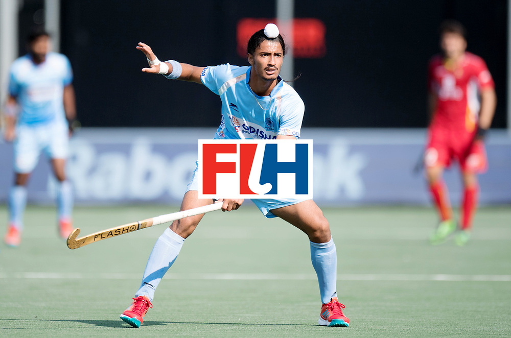 BREDA - Rabobank Hockey Champions Trophy<br /> India - Belgium<br /> Photo: SINGH Dilpreet.<br /> COPYRIGHT WORLDSPORTPICS FRANK UIJLENBROEK