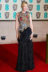 © Licensed to London News Pictures. 14/02/2016. London, UK.CATE BLANCHETT arrives on the red carpet for the EE British Academy Film Awards 2016 after party held at Grosvenor House . London, UK. Photo credit: Ray Tang/LNPPhoto credit: Ray Tang/LNP
