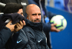 Manchester City manager Josep Guardiola - Mandatory by-line: Alex James/JMP - 22/09/2018 -  FOOTBALL - Cardiff City Stadium - Cardiff, Wales -  Cardiff City v Manchester City - Premier League