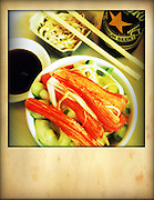 crab,cucumber chinese salad, shot from above, Iphoneography,Iphone image cellphone photography,Iphone pictures,smartphone pictures