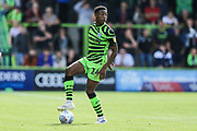 Forest Green Rovers Ebou Adams(14) during the EFL Sky Bet League 2 match between Forest Green Rovers and Newport County at the New Lawn, Forest Green, United Kingdom on 31 August 2019.