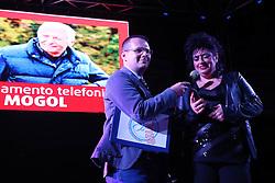 COLLEGAMENTO TELEFONICO CON MOGOL<br /> SERATA PER GIULIA 2016