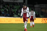 Deception Metz - Guido leonardo MILAN  - 04.04.2015 - Metz / Toulouse - 31eme journee de Ligue 1 <br />Photo : Fred Marvaux / Icon Sport