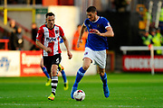 Jamie Proctor (9) of Carlisle United on the attack during the EFL Sky Bet League 2 play off second leg match between Exeter City and Carlisle United at St James' Park, Exeter, England on 18 May 2017. Photo by Graham Hunt.