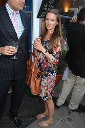 AMANDA CROSSLEY at the launch of The Rupert Lund Showroom, 61 Chelsea Manor Street, London SW3 on 2nd May 2007.<br />
