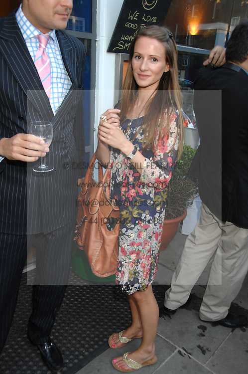 AMANDA CROSSLEY at the launch of The Rupert Lund Showroom, 61 Chelsea Manor Street, London SW3 on 2nd May 2007.<br /><br />NON EXCLUSIVE - WORLD RIGHTS