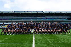 The Worcester Warriors squad for the 2019/20 Gallagher Premiership Season - Mandatory by-line: Robbie Stephenson/JMP - 21/08/2019 - RUGBY - Sixways Stadium - Worcester, England - Worcester Warriors Media Day