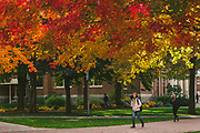 Campus in late October. (GU photo by Gavin Doremus)
