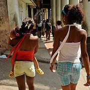 Calle Monte, in the neighborhood of Jesus Maria, Habana, Cuba. Photo by Jen Klewitz