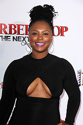 """Torrei Hart, at the """"Barbershop The Next Cut"""" Premiere, TCL Chinese Theater, Hollywood, CA 04-06-16. EXPA Pictures © 2016, PhotoCredit: EXPA/ Photoshot/ Martin Sloan<br /> <br /> *****ATTENTION - for AUT, SLO, CRO, SRB, BIH, MAZ, SUI only*****"""