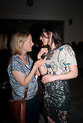 DAISY GARNETT; EMILY SHEFFIELD, Can we Still Be Friends- by Alexandra Shulman.- Book launch. Sotheby's. London. 28 March 2012.