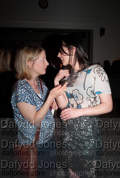 DAISY GARNETT; EMILY SHEFFIELD, Can we Still Be Friends- by Alexandra Shulman.- Book launch. Sotheby's. London. 28 March 2012.