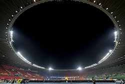 March 21, 2019 - Vienna, Austria - General view of Ernst Happel Stadium during the UEFA European Qualifiers 2020 match between Austria and Poland at Ernst Happel Stadium in Vienna, Austria on March 21, 2019  (Credit Image: © Andrew Surma/NurPhoto via ZUMA Press)