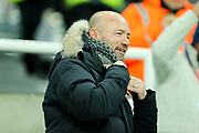 Ex Newcastle United forward Alan Shearer ahead of the Premier League match between Newcastle United and Manchester City at St. James's Park, Newcastle, England on 27 December 2017. Photo by Craig Doyle.