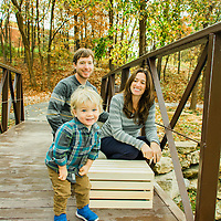 Lifestyle family photography at Watson Trail Park in St. Louis, MO.