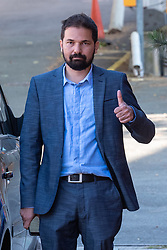 © Licensed to London News Pictures. 13/09/2019. London, UK. Salman Qureshi arrives at High Wycombe Magistrates' Court. Qureshi faces sexual assault charges related to incidents that occurred at the Stoke Mandeville Hospital in Aylesbury and Wycombe General Hospital, High Wycombe, between September 2005 and August 2018. Photo credit: Peter Manning/LNP