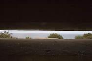 View from the command post of the German WW2 heavy gun battery at Longues sur Mer ..., Travel, lifestyle