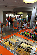 Interior of a Cafeteria